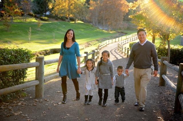 Alex Liu family pic